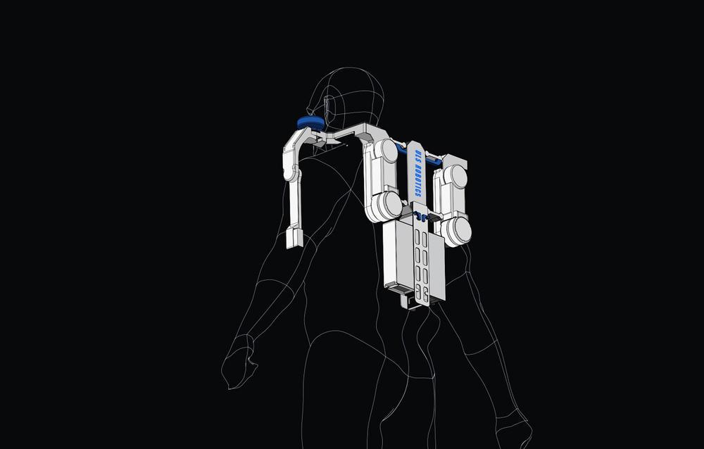 明势险峰联投数百万 他将《流浪地球》中外骨骼带入现实 协助重物搬运图片