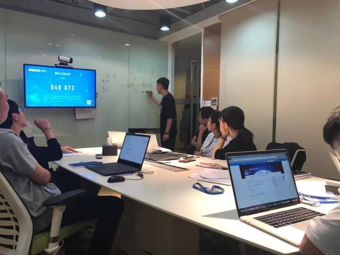 腾讯安全团队。来源:被访者