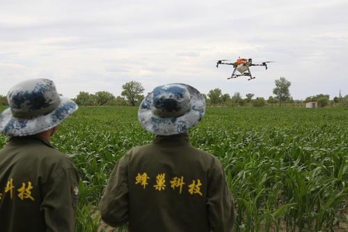 获Pre-A轮融资 他造橙色工蜂飞掠25万亩农田 农药喷洒效率提升30倍