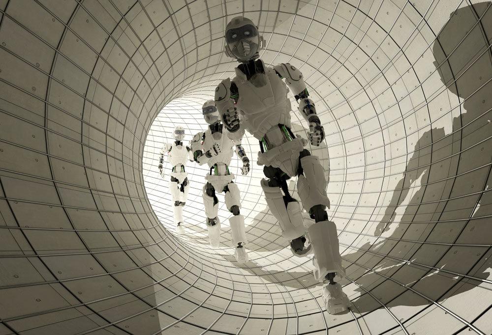研发嫦娥卫星后 航天城小伙造出50kg仿人机器人 双腿前行3家科技馆欲采购