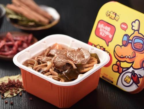 一天卖出1691盒的方便火锅 只需一杯冷水15分钟即食