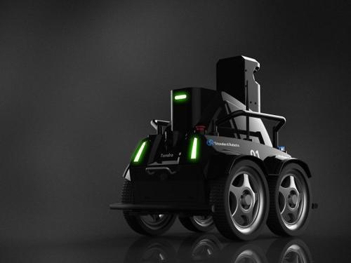 获Pre-A轮融资 他的机器人可自主搬运堆垛巡检 今年已拿244台订单