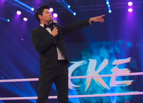 前央视主持办娱乐格斗赛事 邀功夫明星民间高手同台竞技  首期节目9月开播