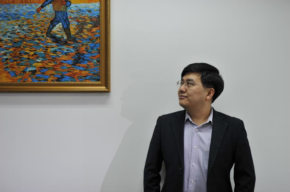 """农业对赵欣培而言是事业,也是""""有趣的挑战""""。"""