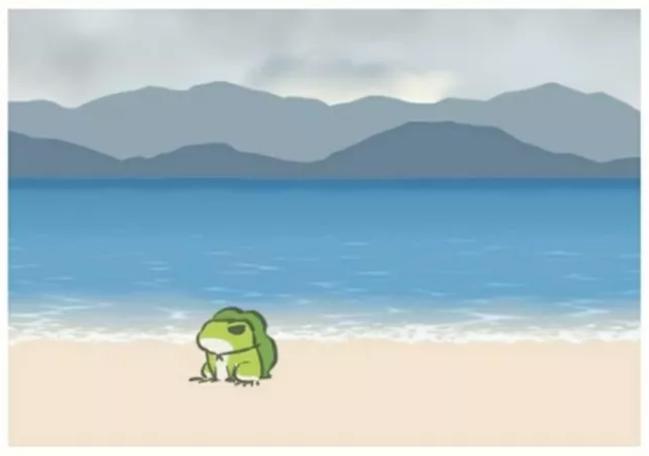 旅行中的蛙