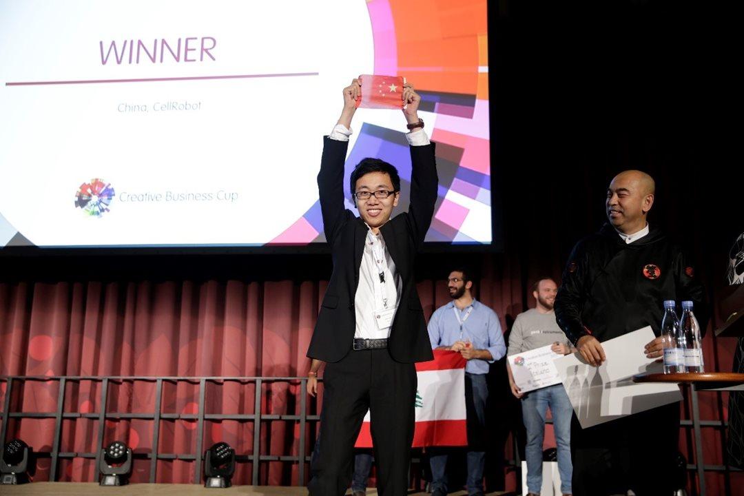 来自北京中关村的Cell Robot消费级模块机器人项目斩获2017年度CBC全球总冠军。数十家国际知名科技和创意媒体对其进行了报道,目前该项目已完成B轮千万美元级融资