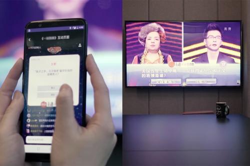 这位博士深掘电视用户流量  以内容识别技术跨屏互动  与江苏卫视促成合作