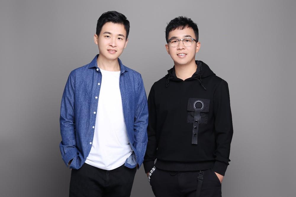 """""""晓家""""项目创始人,从右到左依次为杜頔康、陈华榕"""