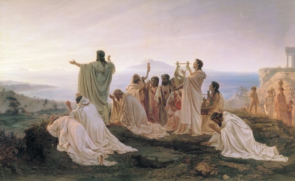 毕达哥拉斯主义者庆祝日出