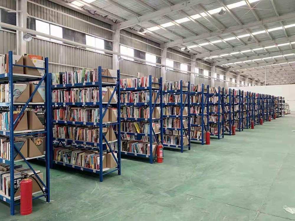 漫游鲸仓库常备的书籍已达20万本。