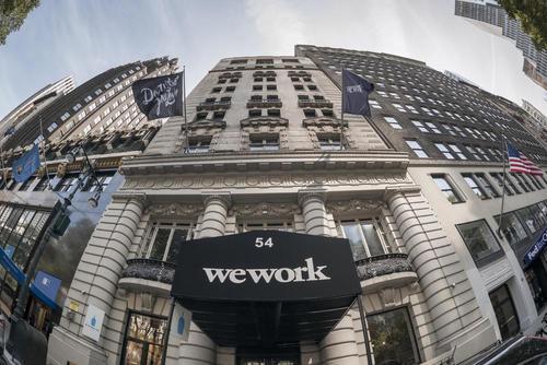 传WeWork最早将于下周公布IPO申请 计划融资逾35亿美元