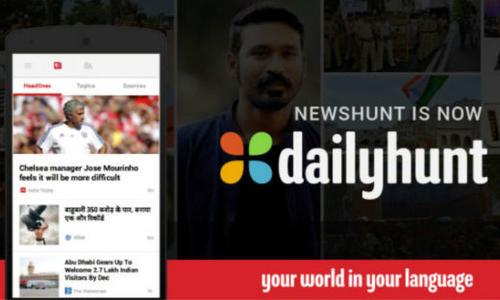 """""""印度版今日头条""""Dailyhun完成2.057亿卢比融资"""
