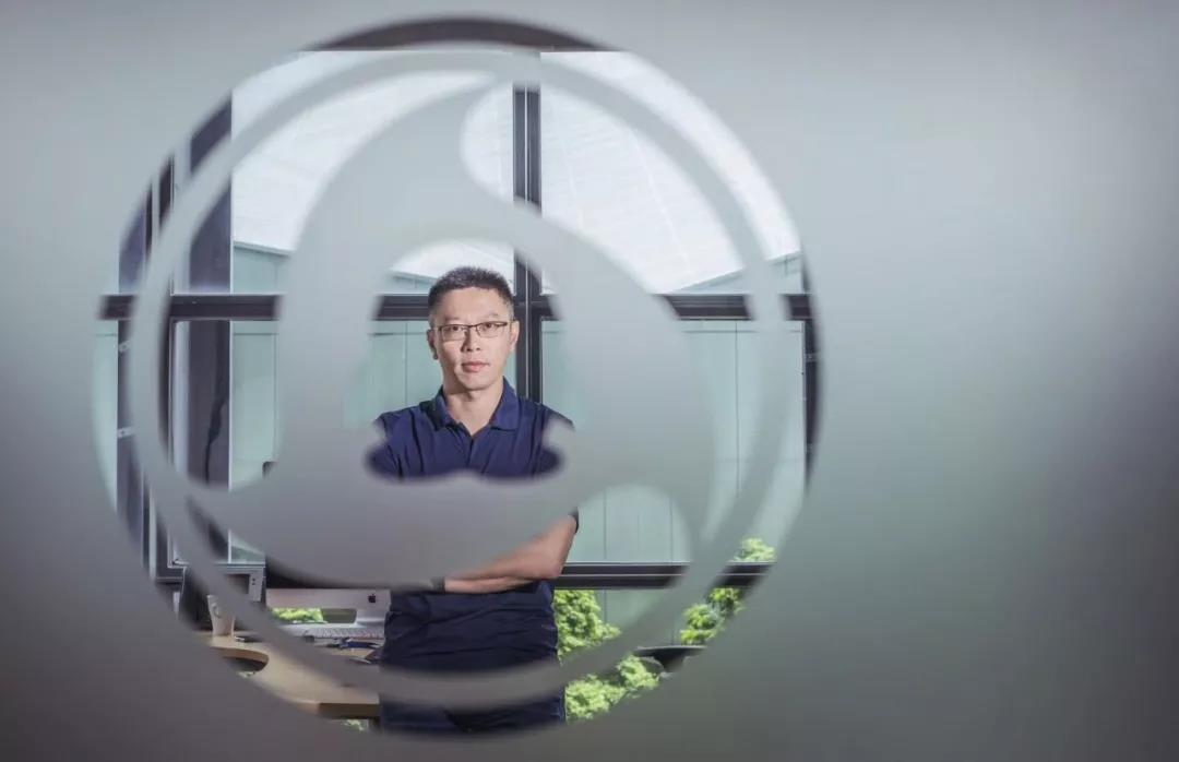 腾讯安全副总裁黎巍。摄影:金羽泽