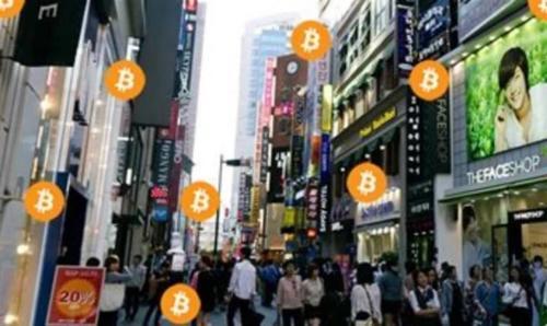 """韩国的""""币圈热潮"""""""