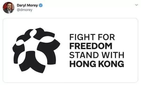 莫雷的一条推特引发了后续无数的连锁反应。