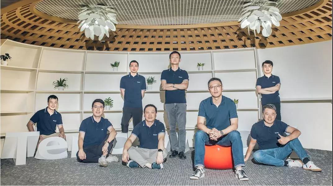 腾讯安全团队。摄影:金羽泽