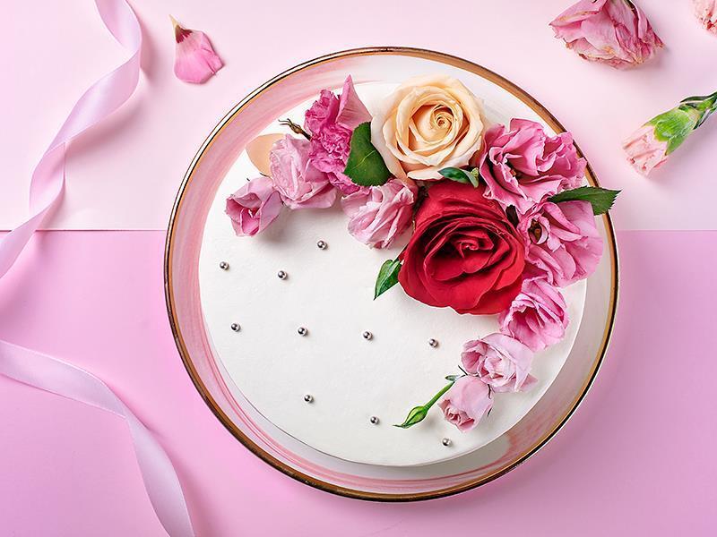 """母亲节推出的""""最爱妈妈""""蛋糕"""