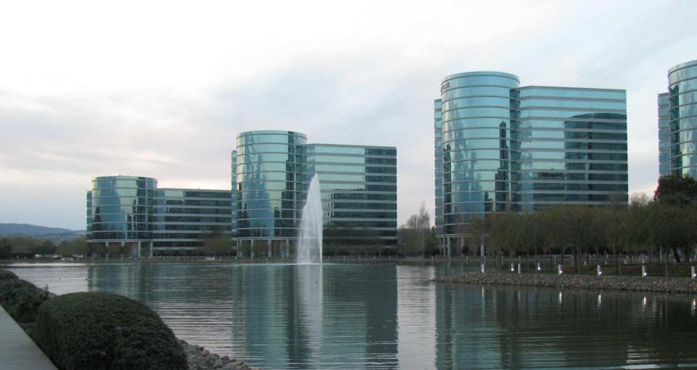 图:全球最大的企业级软件公司Oracle位于硅谷的总部